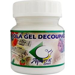 Cola Gel para Decoupage 50g Aquarela Brasil