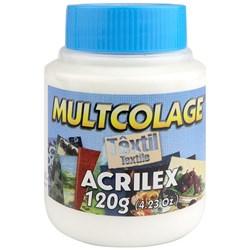 Cola Multcolage Têxtil Acrilex 120g