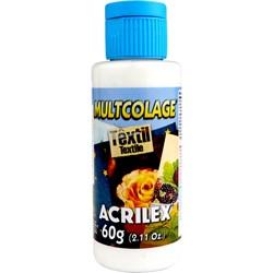 Cola Multcolage Têxtil Acrilex 60g