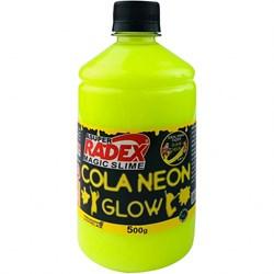 Cola Neon para Slime 500g REF.7304 Amarelo