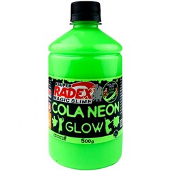 Cola Neon para Slime 500g REF.7305 Verde