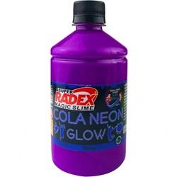 Cola Neon para Slime 500g REF.7309 Roxo