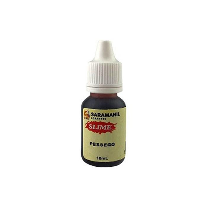Corante Liquido para Slime 10mL CL11 Saramanil - Pêssego