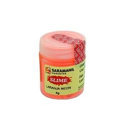 Corante Neon para Slime 4g CN01 Saramanil - Laranja Neon