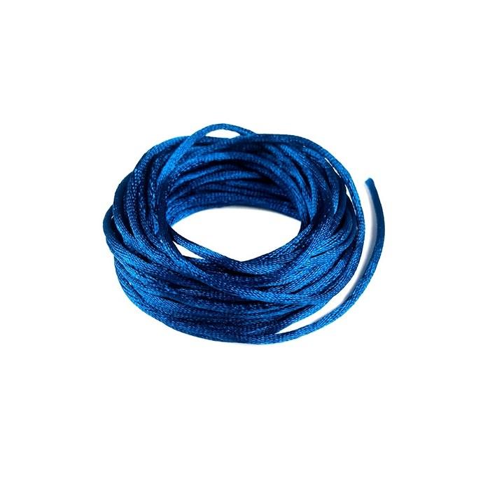 Cordão de Cetim Azul Royal CC005 - com 5 metros