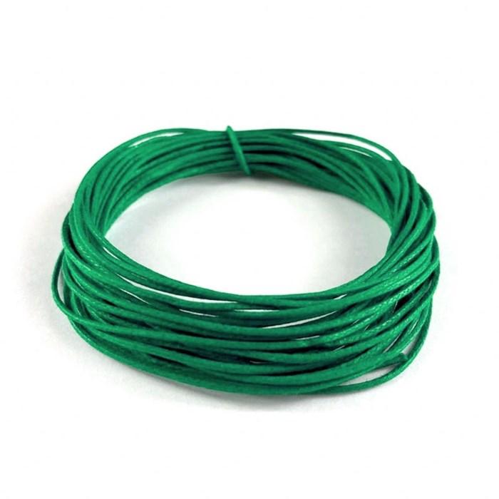 Cordão Encerado CE17 Verde Bandeira - com 5 metros