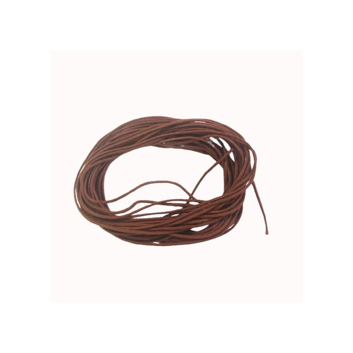 Cordão Encerado Chocolate CE16 Chocolate - com 5 metros