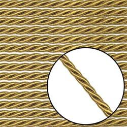 Cordão São Francisco 6mm 001/6 - Cor 103 Ouro Velho - com 20 metros