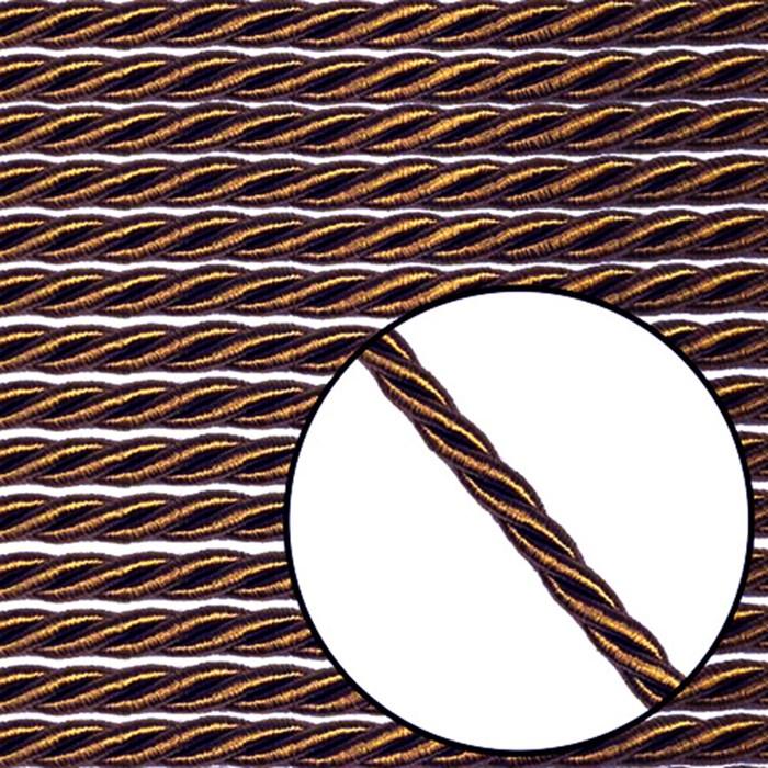 Cordão São Francisco 6mm 001/6 - Cor 14 Marrom - com 20 metros