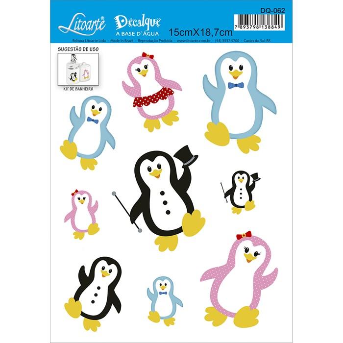 Decalque DQ-062 Pinguins