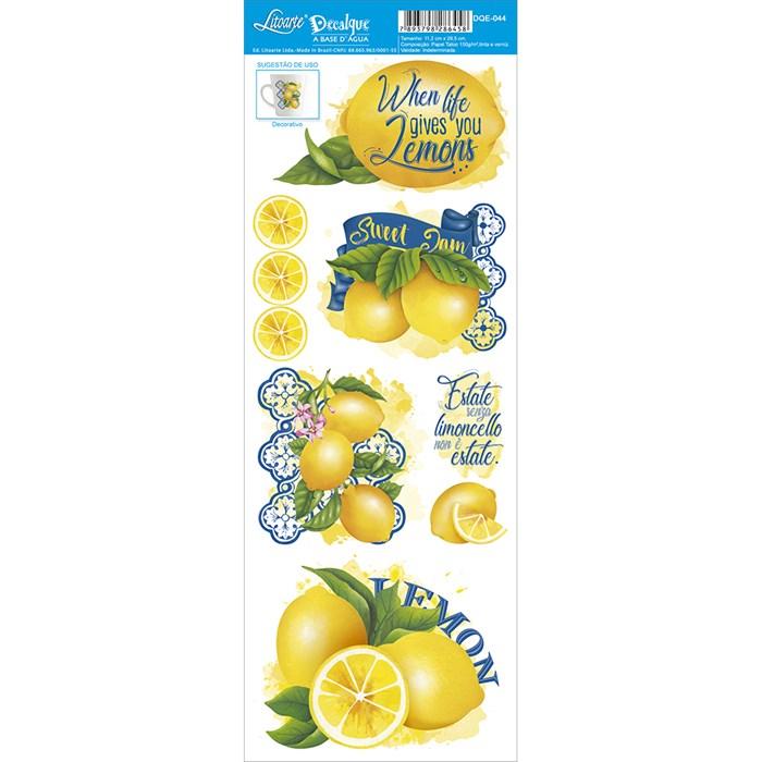 Decalque DQE-044 Limões