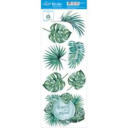 Decalque DQE-047 Folhas Tropicais