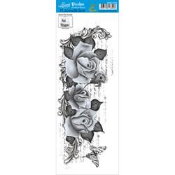 Decalque DQE1-019 Rosas