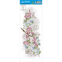 Decalque DQE1-021 Flores
