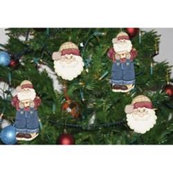Deco Madeira Decorativo Natal Litoarte DMDGN-006 Papai Noel