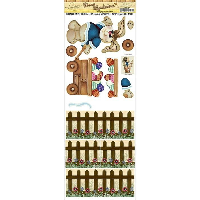 Deco Madeira Especial Litoarte DME-002 Caixinha de Páscoa