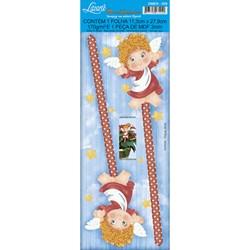 Deco Madeira Especial Natal Litoarte DMEN-006 Anjo