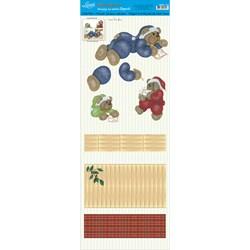 Deco Madeira Especial Natal Litoarte DMEN-016 Porta Envelope