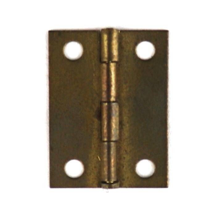 Dobradiça 20x26mm A28/14-4 Ouro Velho - com 2 unidades