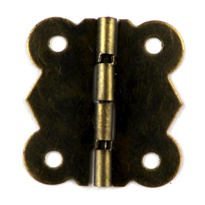 Dobradiça Ondulada A28/21-1 Ouro Velho - com 2 unidades