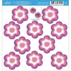Embelezadores - Flores - SDE-079 Flor Recortada Rosa