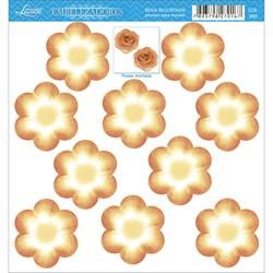 Embelezadores - Flores - SDE-080 Flor Recortada Amarela
