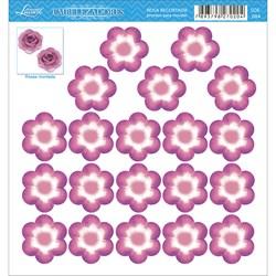 Embelezadores - Flores - SDE-084 Flor Recortada Rosa