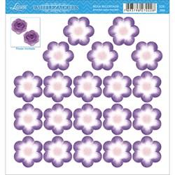 Embelezadores - Flores - SDE-086 Flor Recortada Lilás
