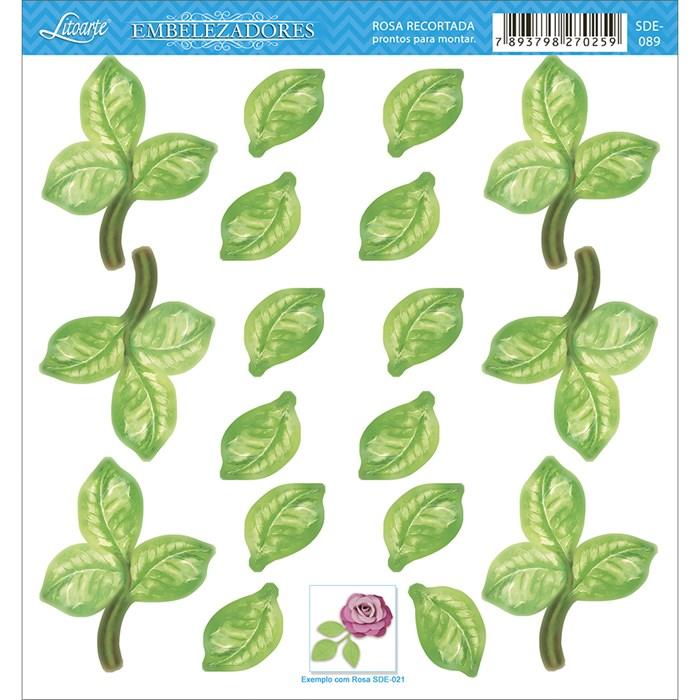 Embelezadores - Folhas - SDE-089 Folhas de Arvores