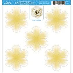 Embelezadores - Rosas - SDE-004 Rosa Recortada Amarela