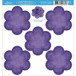 Embelezadores - Rosas - SDE-018 Rosa Recortada Roxa