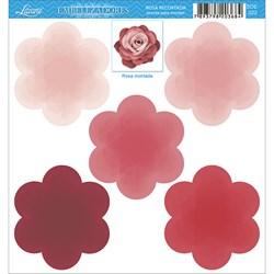 Embelezadores - Rosas - SDE-022 Rosa Recortada Goiaba