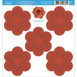 Embelezadores - Rosas - SDE-023 Rosa Recortada Vermelha