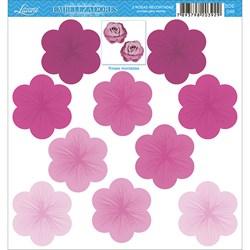Embelezadores - Rosas - SDE-046 Rosa Recortada Pink