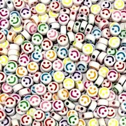 Entremeio Redondo Smile  5X10 Branco + Colors- 95 Gramas