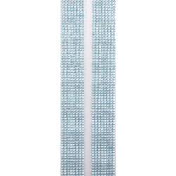 Faixa Adesiva Strass 3mm FS3-19 Azul Irisado