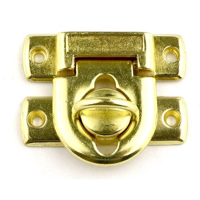 Fecho Baú com Trava DV057-2 Ouro - com 1 unidade