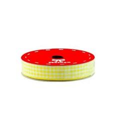 Fita Xadrez Melaço 10mm Amarelo FX016 - com 10 metros