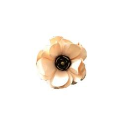 Flor de Papel Artesanal 4,5cm FAV05 - com 1 unidade