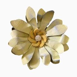 Flor de Papel Artesanal 7,0cm FAV08 - com 1 unidade