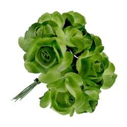 Flor de Papel P Verde RSP-008 - 12 unidades