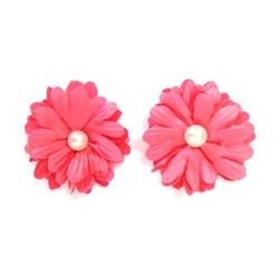 Flor de Tecido FT-03 Pink Vintage - com 2 unidades