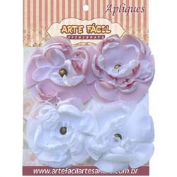 Flor em Tecido FL-004 Arte Fácil - 4 unidades