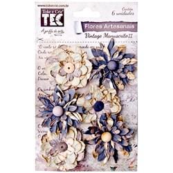 Flores Artesanais com Pérola Gris 15162 Toke e Crie