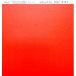 Folha Dupla Face com Relevo Bolinhas SR-008 Vermelho