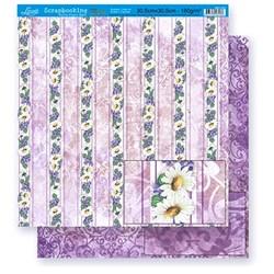 Folha Dupla Face Scrapbooking Lili Negrão SD1-031 Flores