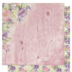Folha Dupla Face Scrapbooking Lili Negrão SD1-061 Flores e Rosas