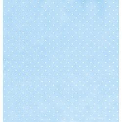 Folha Dupla Face Scrapbooking SD-012 Maternidade Blue II