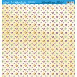 Folha Dupla Face Scrapbooking SD-053 Borboletas