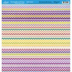 Folha Dupla Face Scrapbooking SD-118 Bolinhas Coloridas